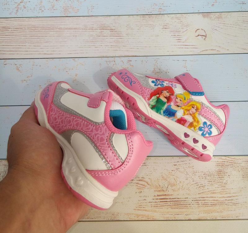 Фирменные кроссовки на девочку дисней, disney, nickelodeon - Фото 2