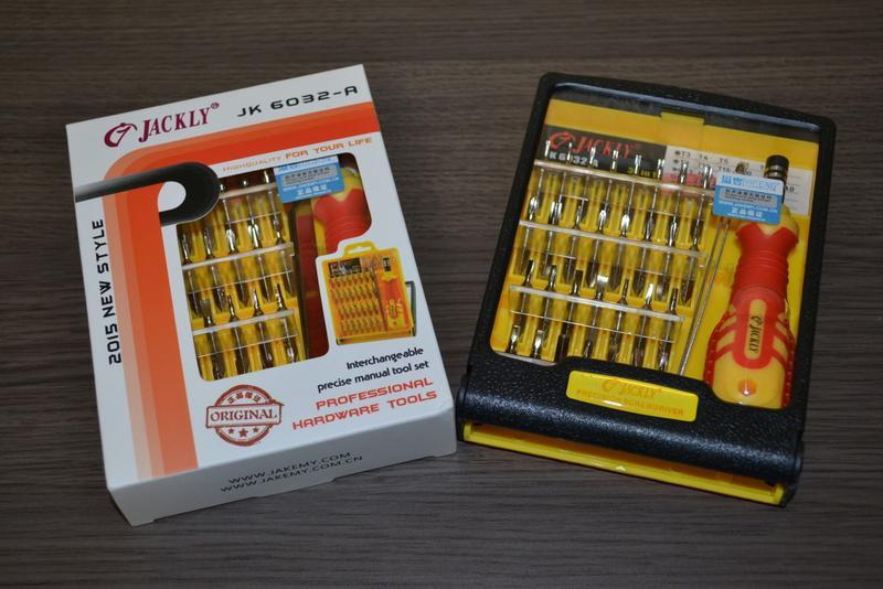 Качественный набор инструментов, 32 в 1 JACKLY JK 6032-A оригинал