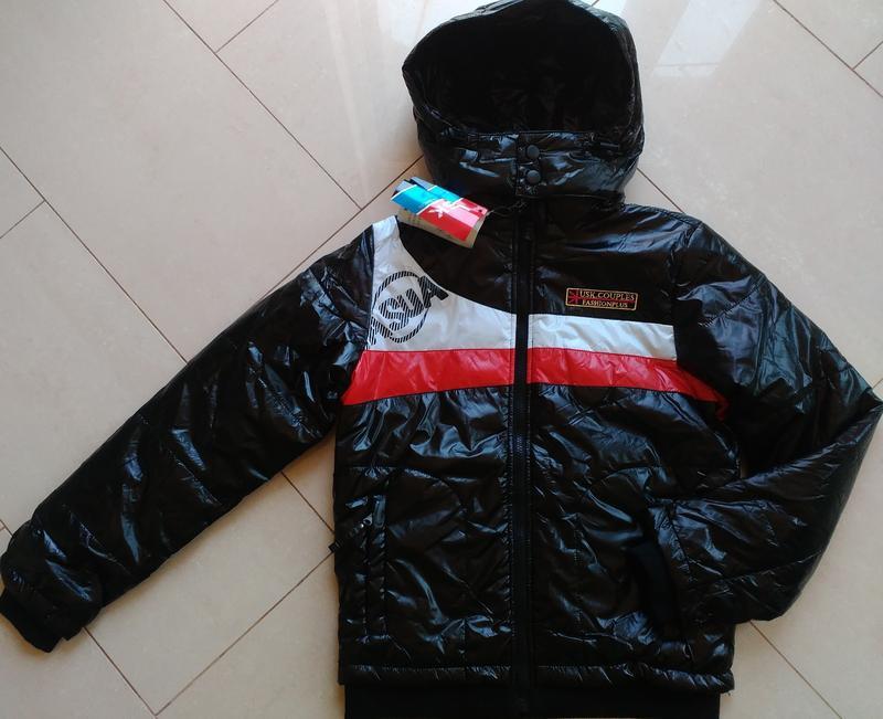 Куртка на мальчика подростковая демисезонная осень весна 146-1...