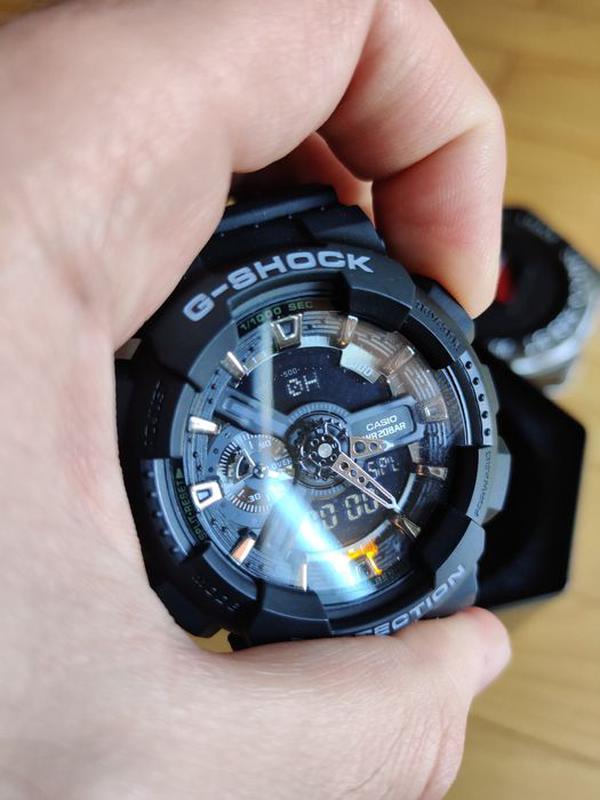 Часы мужские наручные Casio G Shock GA-100 с боксом - Фото 3