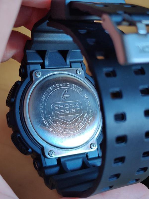 Часы мужские наручные Casio G Shock GA-100 с боксом - Фото 5