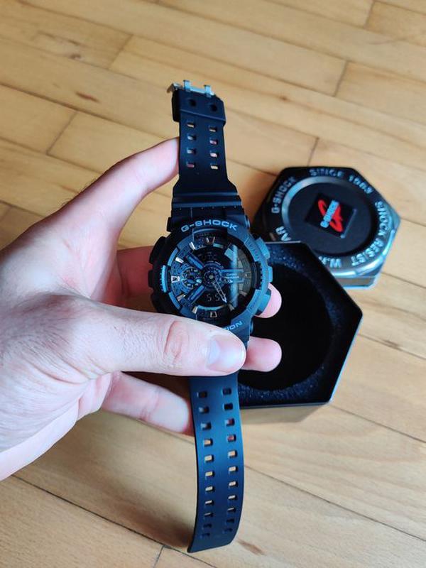 Часы мужские наручные Casio G Shock GA-100 с боксом - Фото 8