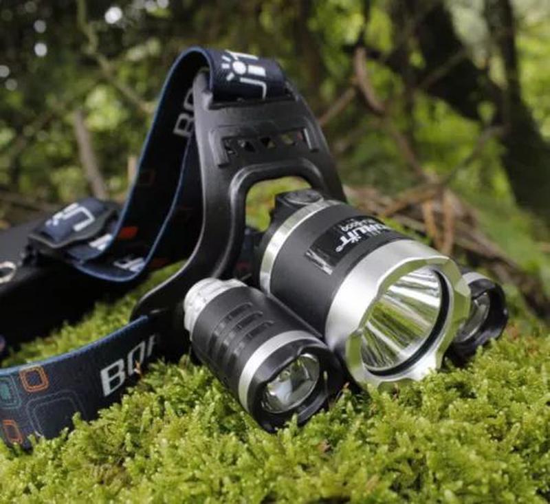 Мощный Налобный фонарь Police тактический фонарик для охоты и ...