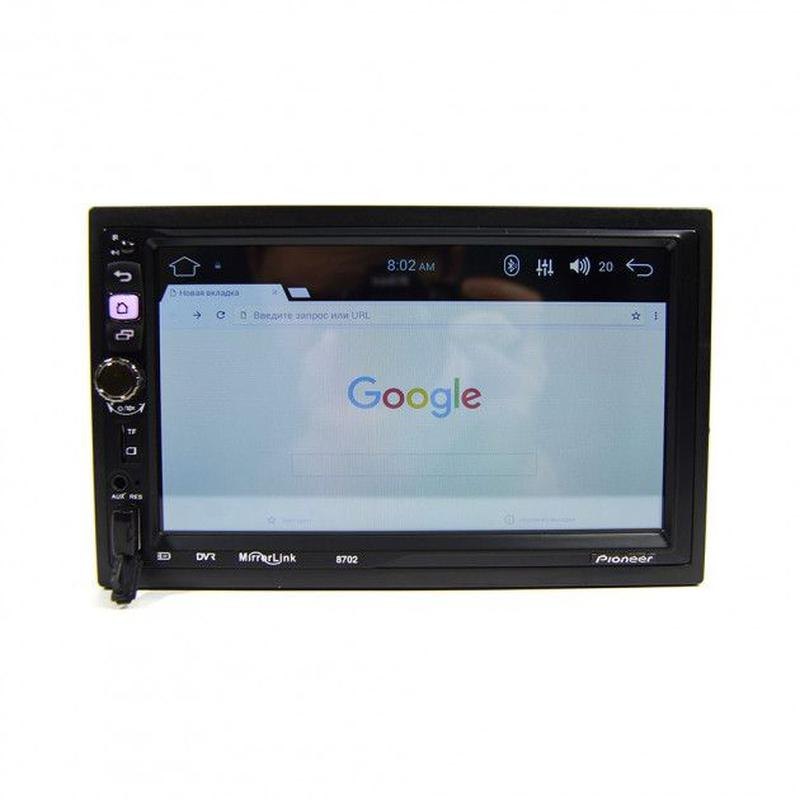 Автомагнитола 2DIN DHD Pioneer 8702 Android 7.1 WI-FI GPS - Фото 3
