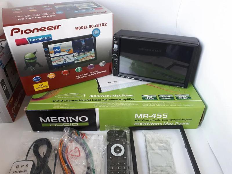 Автомагнитола 2DIN DHD Pioneer 8702 Android 7.1 WI-FI GPS - Фото 8