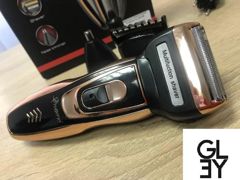 Триммер бритва 3 в 1 Gemei GM-595 Мужская электробритва Есть О...