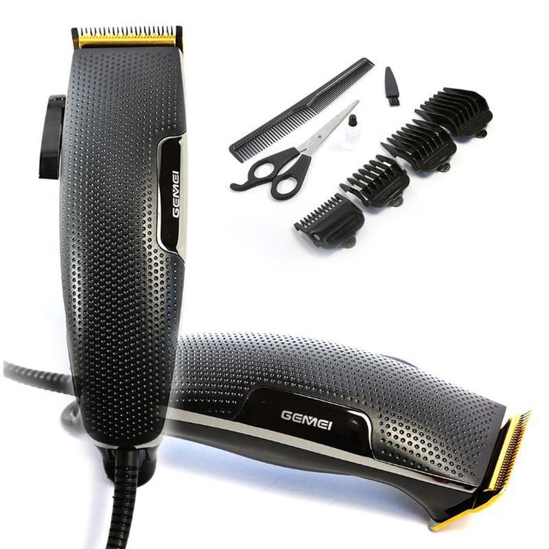 Машинка для стрижки волос GEMEI GM 806 лезвия из нержавеющей С... - Фото 7