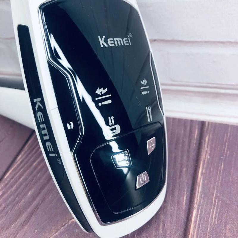 Лазерный фотоэпилятор Kemei KM-6812 S для лица и тела женский ... - Фото 2