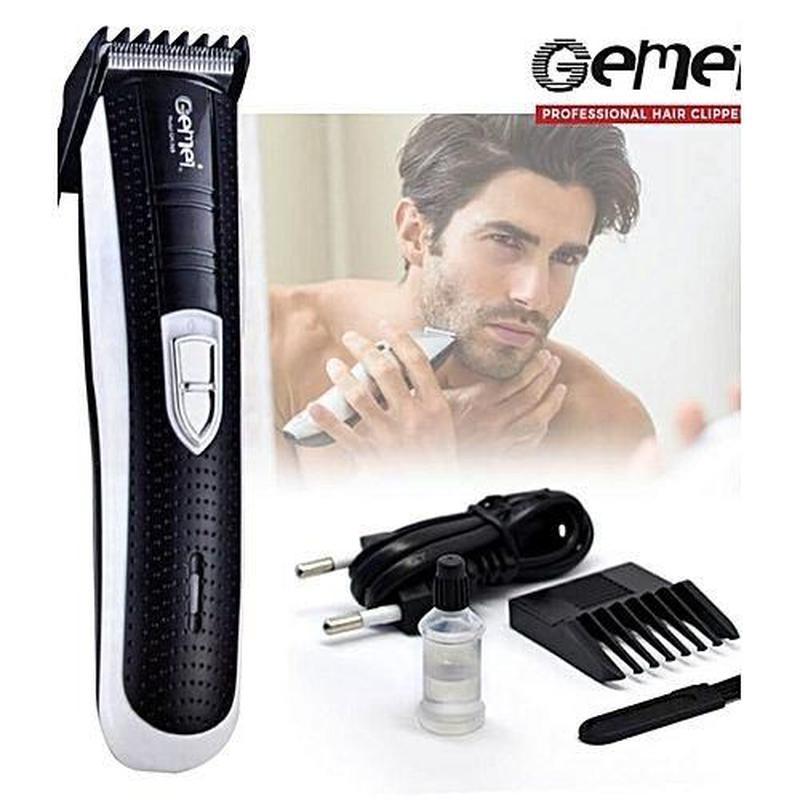 Триммер для бороды и усов Gemei GM-769 Бело-черный для тела РА...