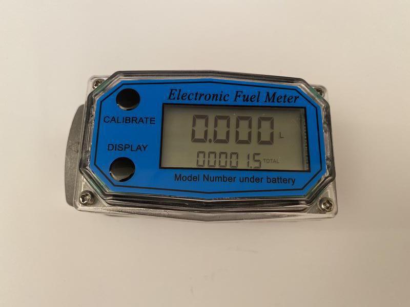 Электронный Счётчик для перекачки топлива бензина дизеля воды