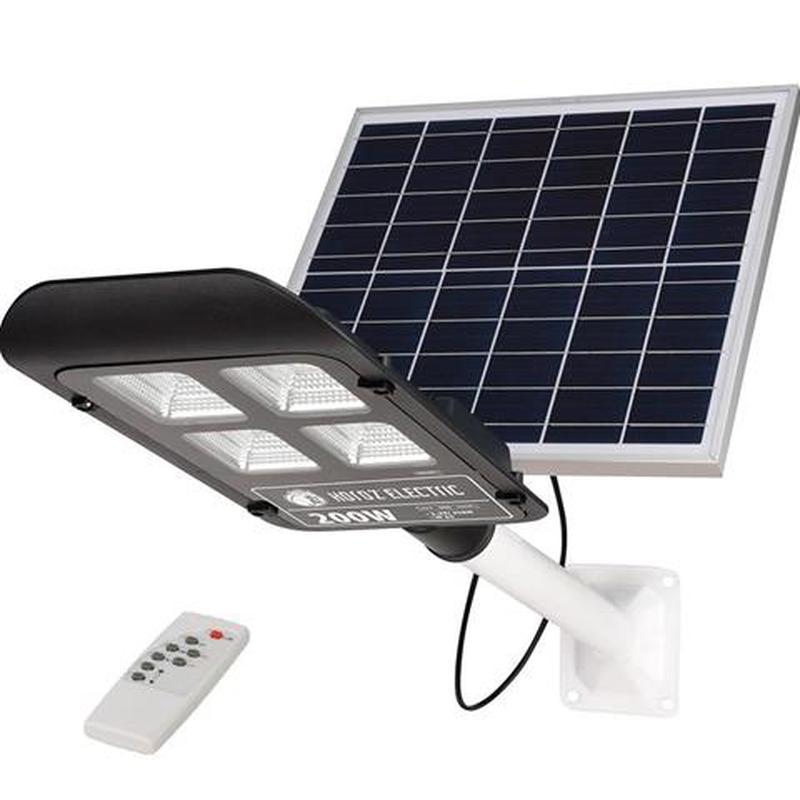 Консольный светильник (фонарь) с солнечной панелью LAGUNA 50, 100