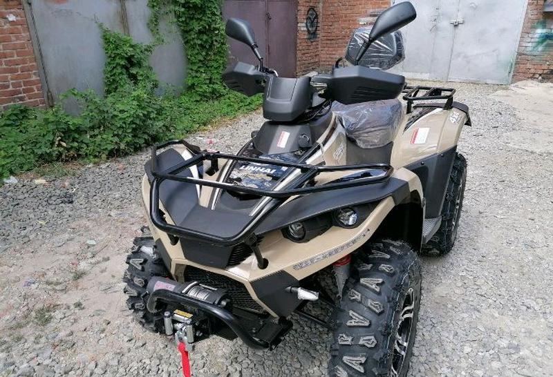 Квадроцикл linhai-yamaha D400 4Х4