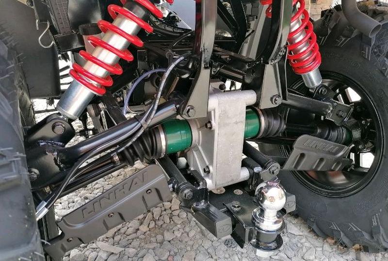 Квадроцикл linhai-yamaha D400 4Х4 - Фото 8