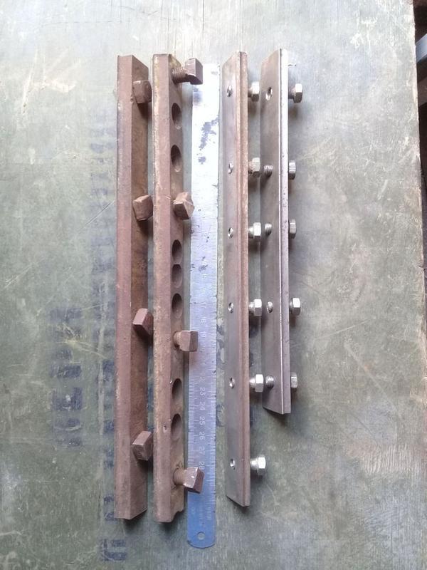Ножи и клинья для фуганка деревообрабатывающего станка