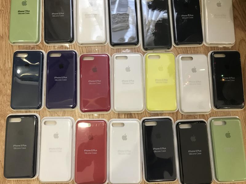 Чехол (бампер) Silicone Case для Iphone 6/6 S/ 7/8/7 plus/ 8 plus - Фото 5