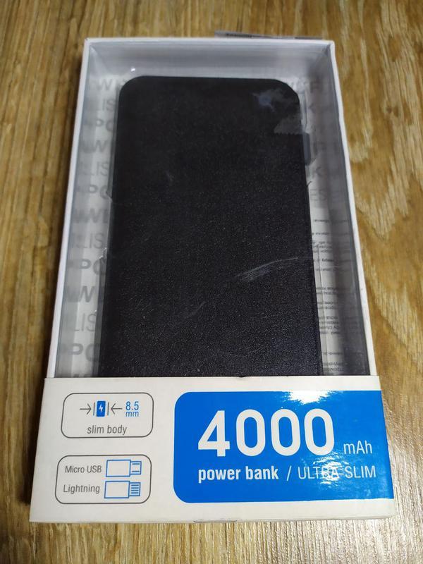 Зовнішній акумулятор (Power Bank) Global G.Power Bank 4000mAh