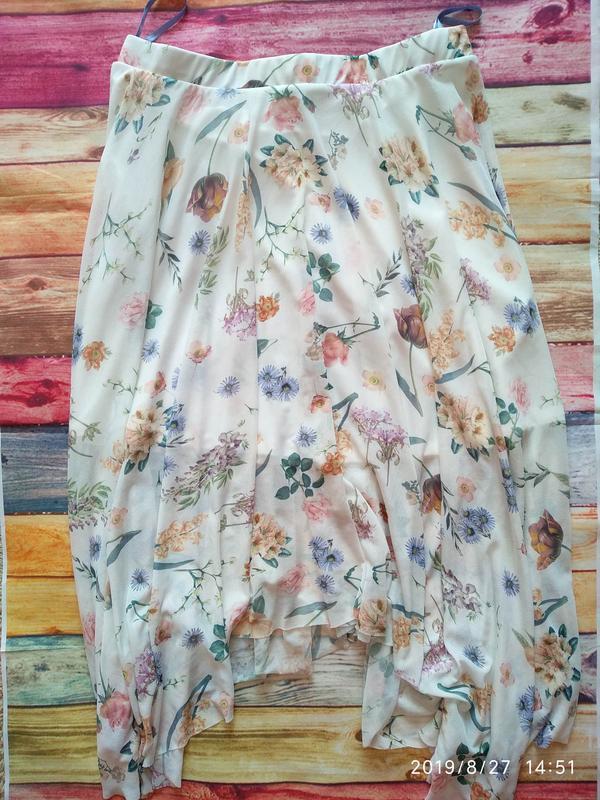 Нежная юбка в цветочный принт 🌺 new look