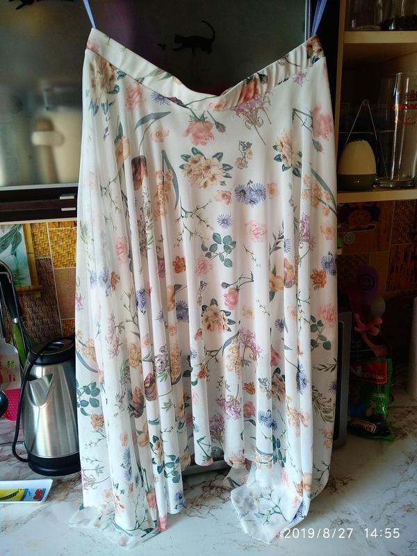 Нежная юбка в цветочный принт 🌺 new look - Фото 3