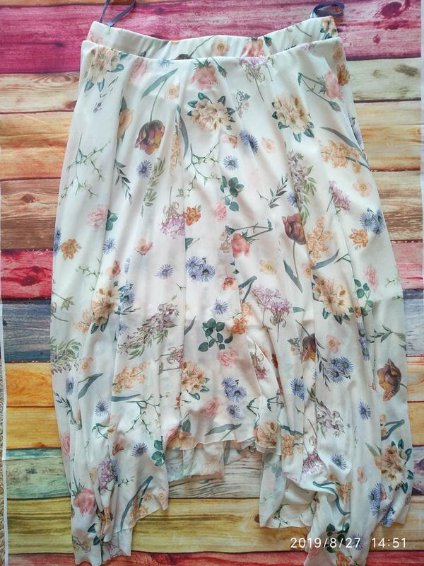 Нежная юбка в цветочный принт 🌺 new look - Фото 4