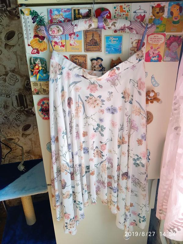 Нежная юбка в цветочный принт 🌺 new look - Фото 5