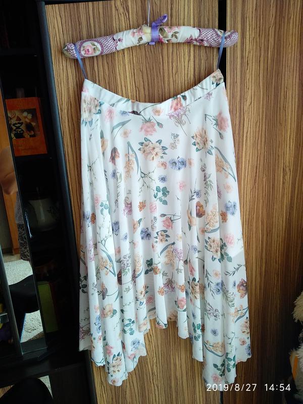 Нежная юбка в цветочный принт 🌺 new look - Фото 6