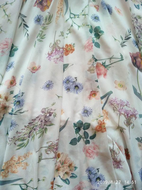 Нежная юбка в цветочный принт 🌺 new look - Фото 9
