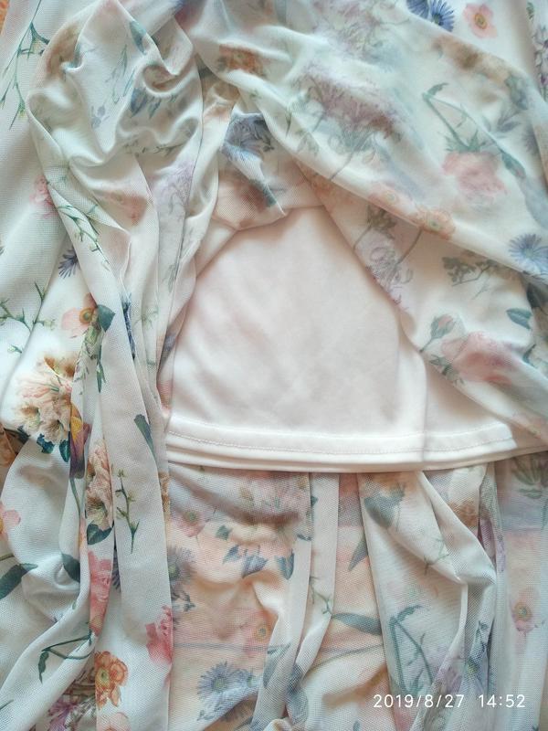 Нежная юбка в цветочный принт 🌺 new look - Фото 10