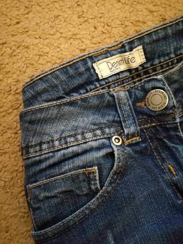 Классические джинсы скинни pimkie 27 размер - Фото 5