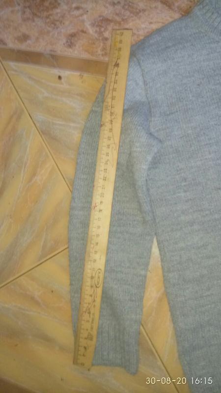 Детский фирменный шерстяной свитер для мальчика 8-10 лет. Состоян