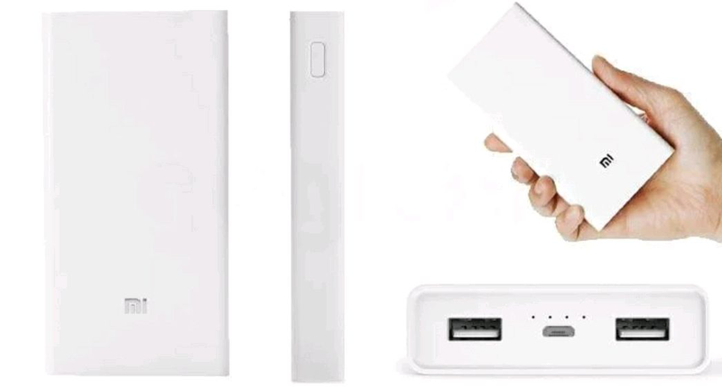 Универсальная батарея Xiaomi Mi Power Bank 20000mAh MI S9 White, - Фото 6
