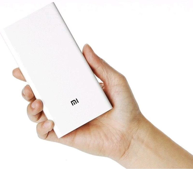 Универсальная батарея Xiaomi Mi Power Bank 20000mAh MI S9 White, - Фото 2