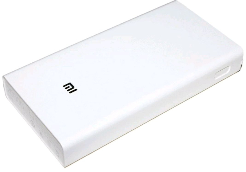 Универсальная батарея Xiaomi Mi Power Bank 20000mAh MI S9 White, - Фото 3