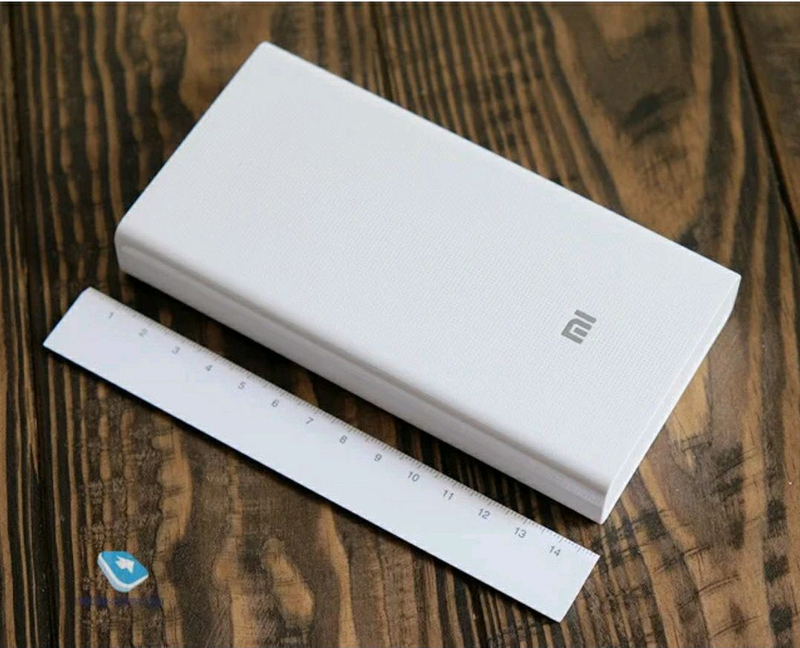 Универсальная батарея Xiaomi Mi Power Bank 20000mAh MI S9 White, - Фото 5