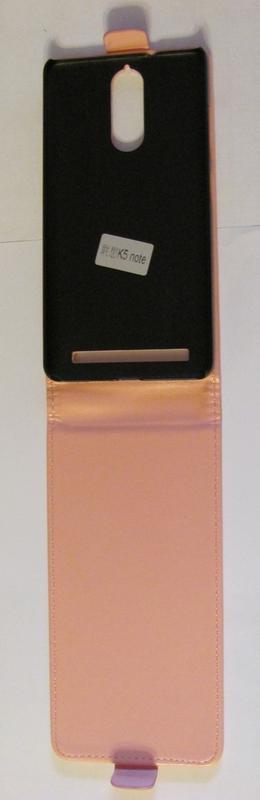 Вертикальный чехол Розовый для Lenovo Vibe K5