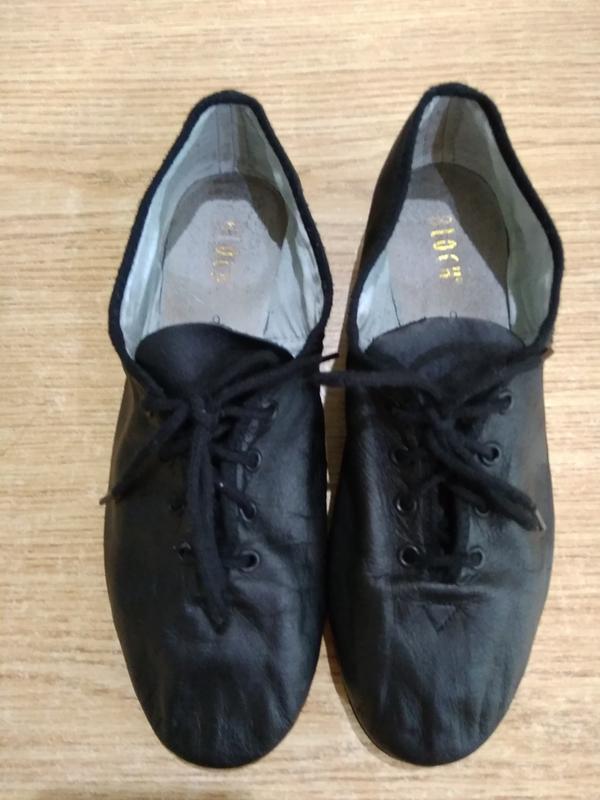 Джазовки bloch кожаные туфли для танцев