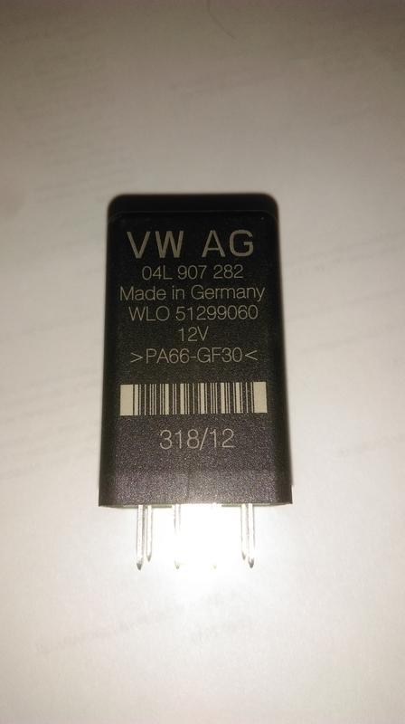 Контроллер свечей зажигания wag 511 04L907282