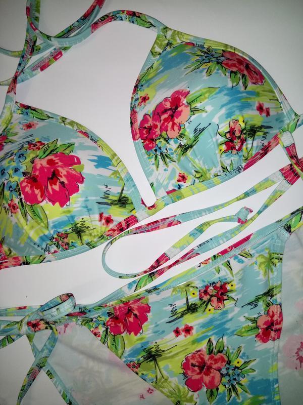 Купальник в красивых цветах от george 75b - Фото 3