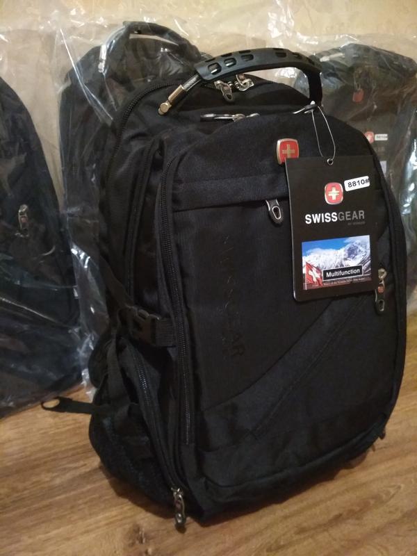 Рюкзак swissgear 8810 дождевик аудио usb кабель в комплекте - Фото 2