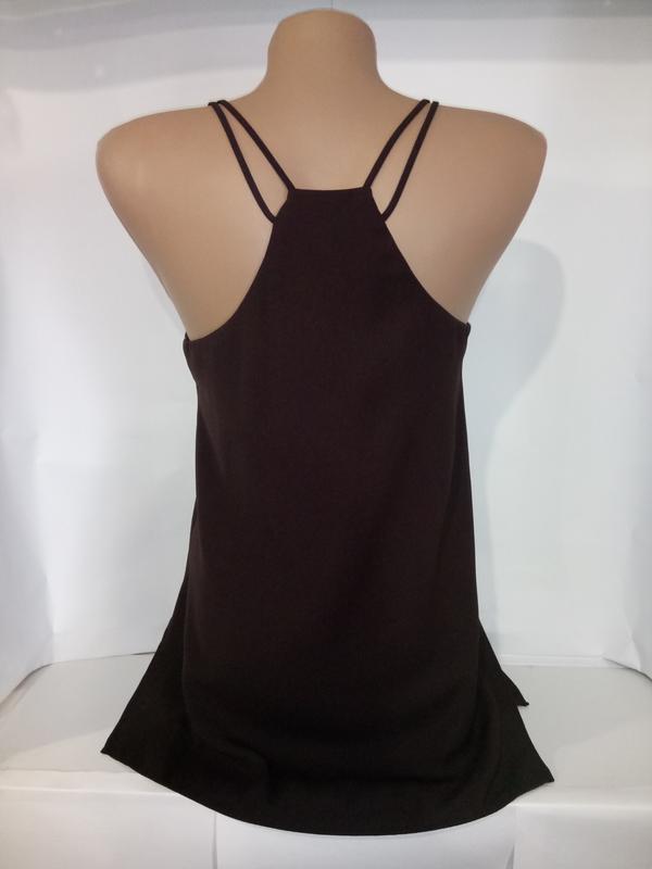 Красивая стильная блуза майка river island uk 8/36/xs - Фото 3
