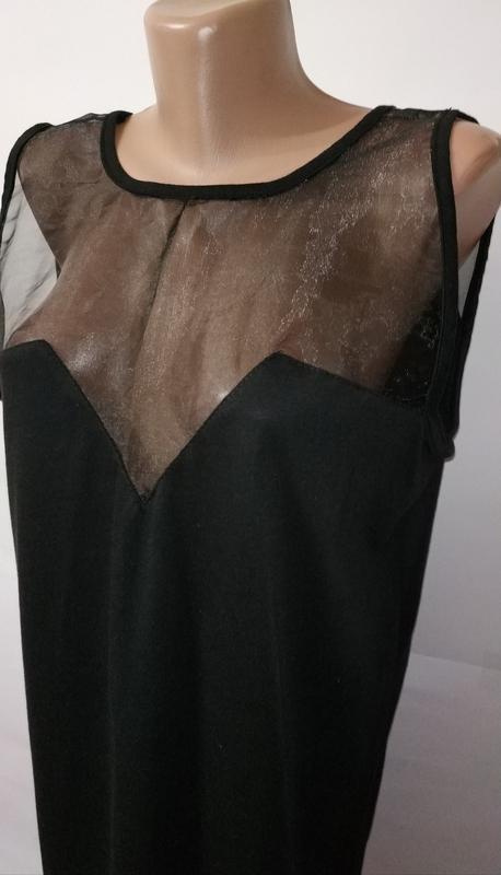 Модная черная туника блуза с вырезом на спине daisy street uk ... - Фото 2
