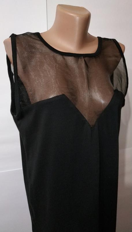 Модная черная туника блуза с вырезом на спине daisy street uk ... - Фото 3