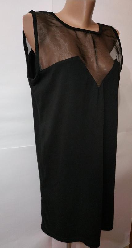 Модная черная туника блуза с вырезом на спине daisy street uk ... - Фото 4