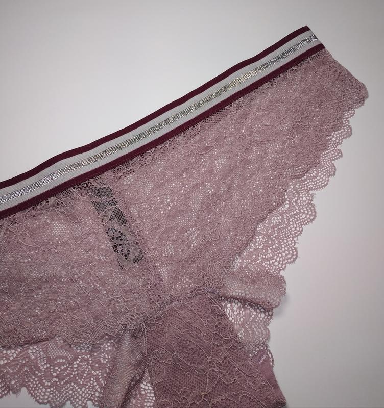Сиреневые кружевные сексуальные трусики secret possessions uk ... - Фото 3