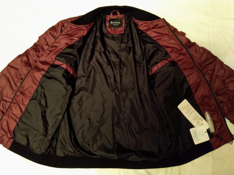 """Стёганная мужская куртка - """"Supidol"""" - Фото 2"""