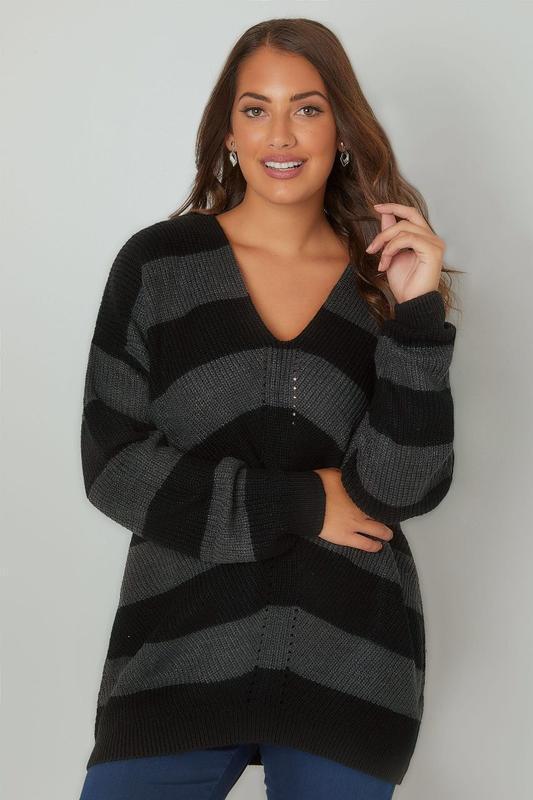 Шикарный фирменный джемпер,свитер yours большого размера