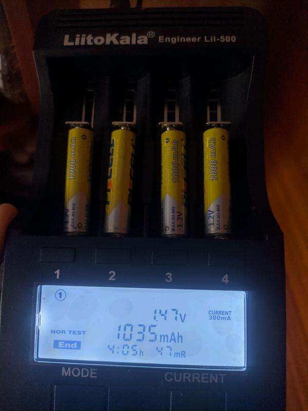 Аккумуляторы AAA Pkcell 1000 Mah Аккумуляторные Батарейки - Фото 5