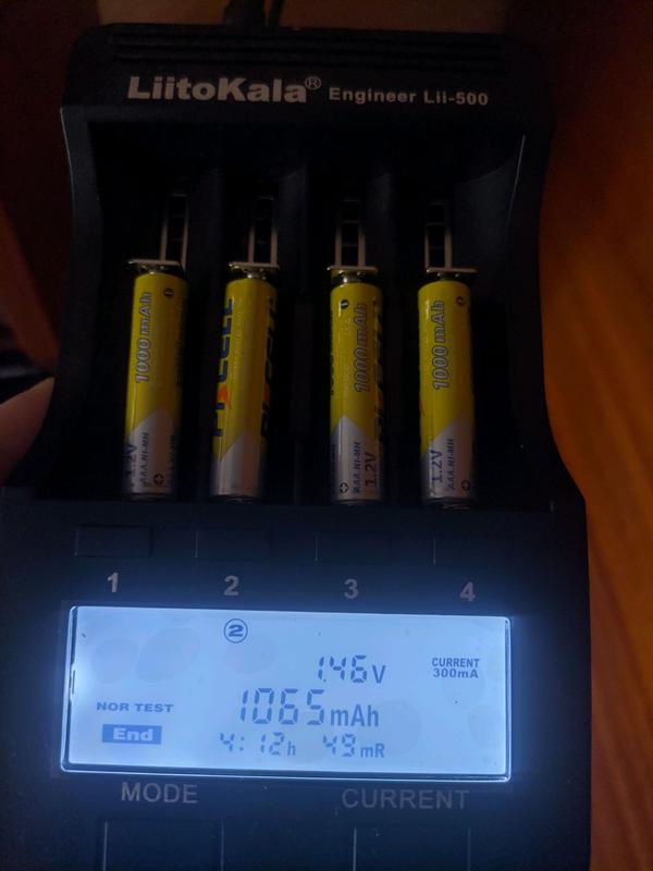 Аккумуляторы AAA Pkcell 1000 Mah Аккумуляторные Батарейки - Фото 4