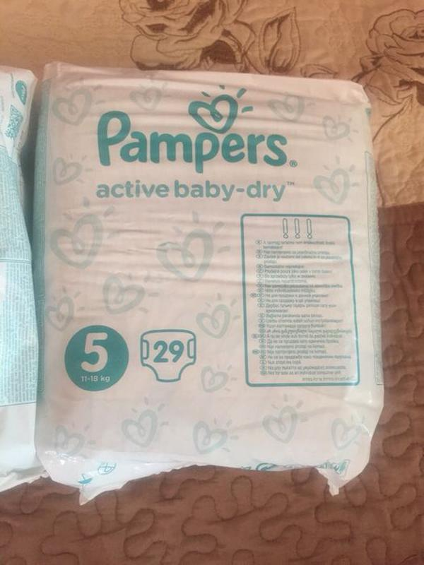 Памперсы Pampers 5
