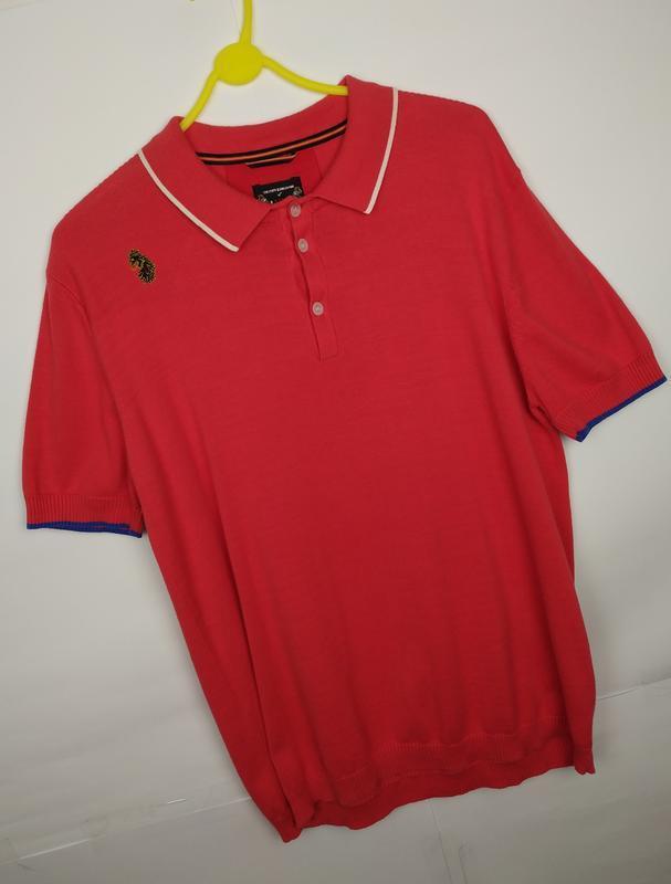 Хлопковая оригинальная трикотажная футболка luke размер xl