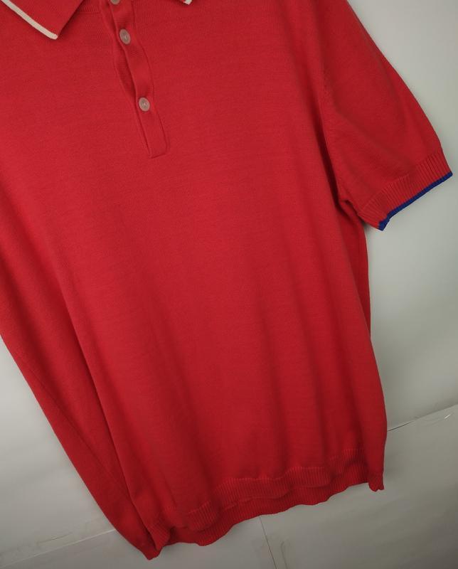 Хлопковая оригинальная трикотажная футболка luke размер xl - Фото 3